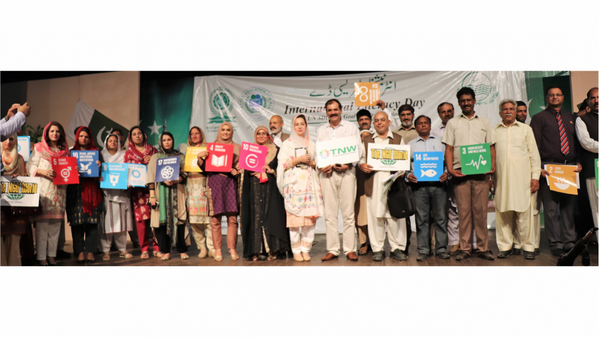 TNW supports SDGs 4 and celebrated International Literacy Day