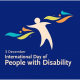 3rd December – International Day of People with Disability