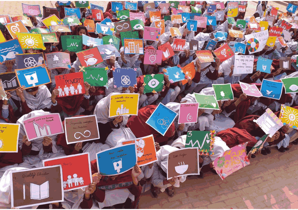 Girls Students of Pakistan Highlights the Importance of SDGs