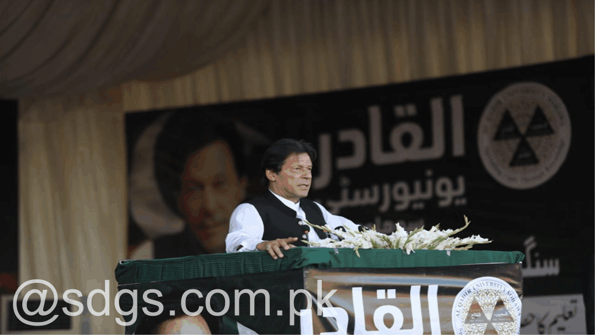 PM Khan groundbreaking of Mother and Child hospital